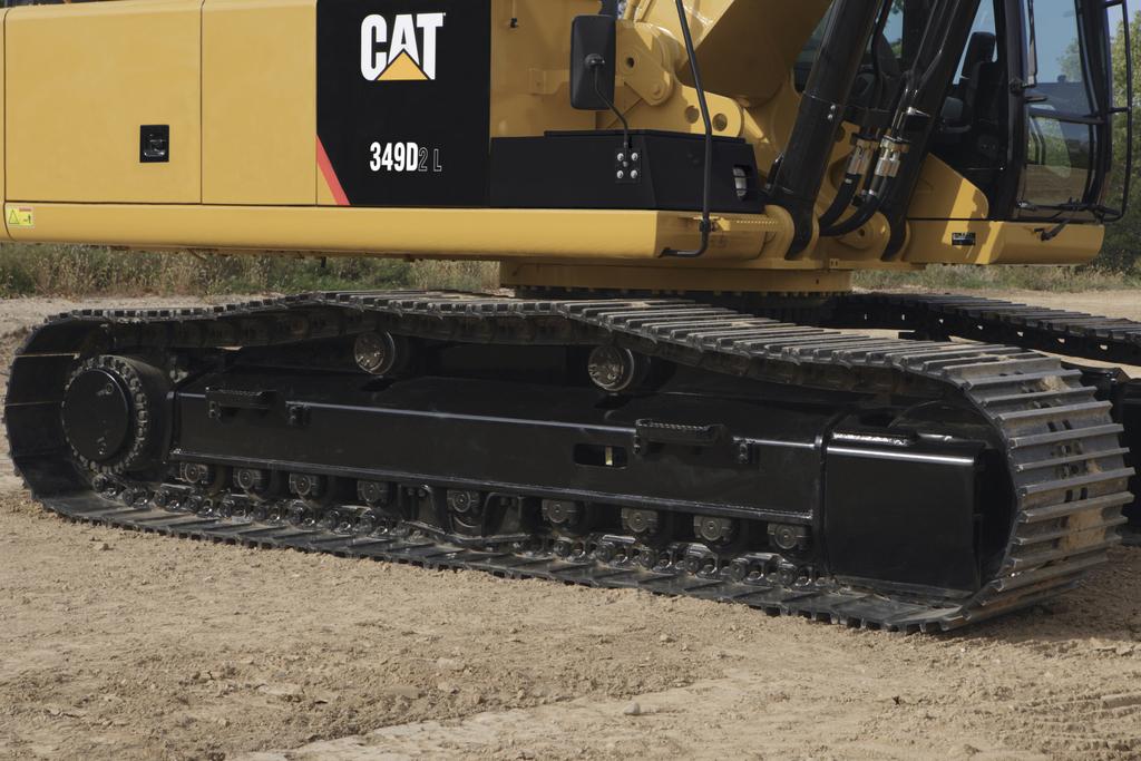 卡特彼勒349d2挖掘机结构和底盘系统